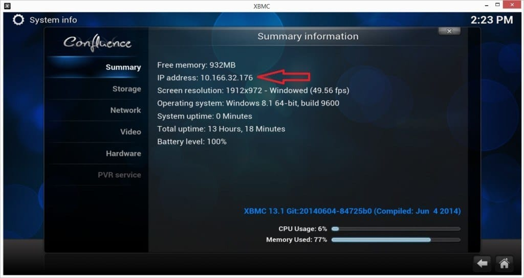 Control Kodi From Your Mobile
