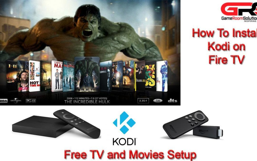 Amazon Fire TV XBMC Kodi How to Get Free Movies and TV