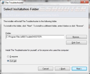 troubleshooter install