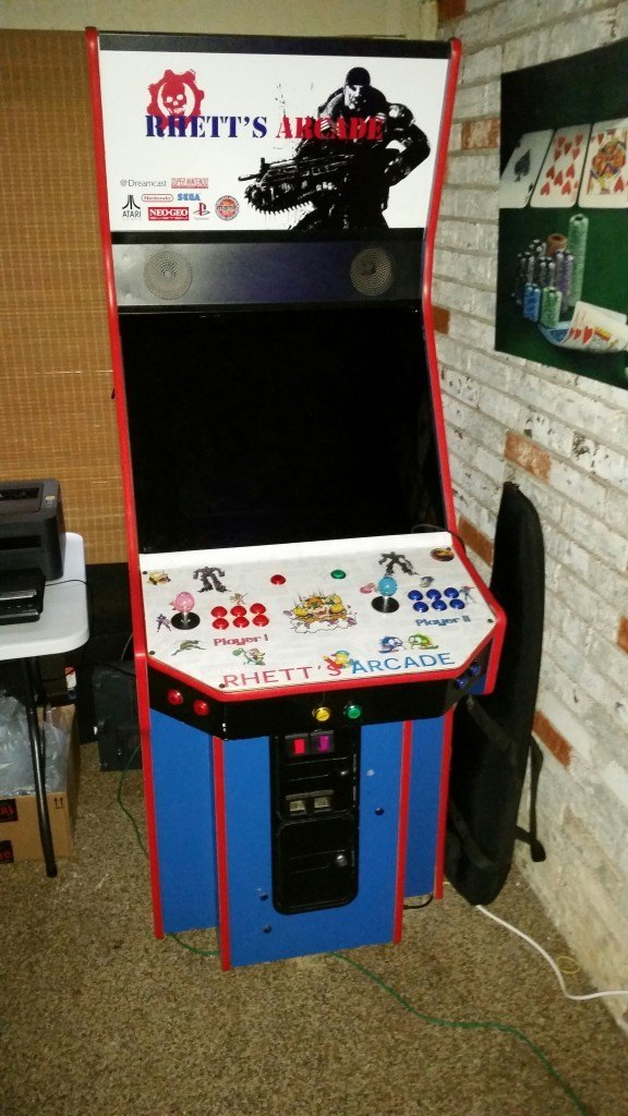 Build a home arcade machine game room solutions referb arcade malvernweather Gallery