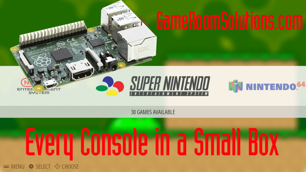 Raspberry Pi for Gaming - The Light Weight Retro Console