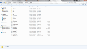 MAME Emulator Folder