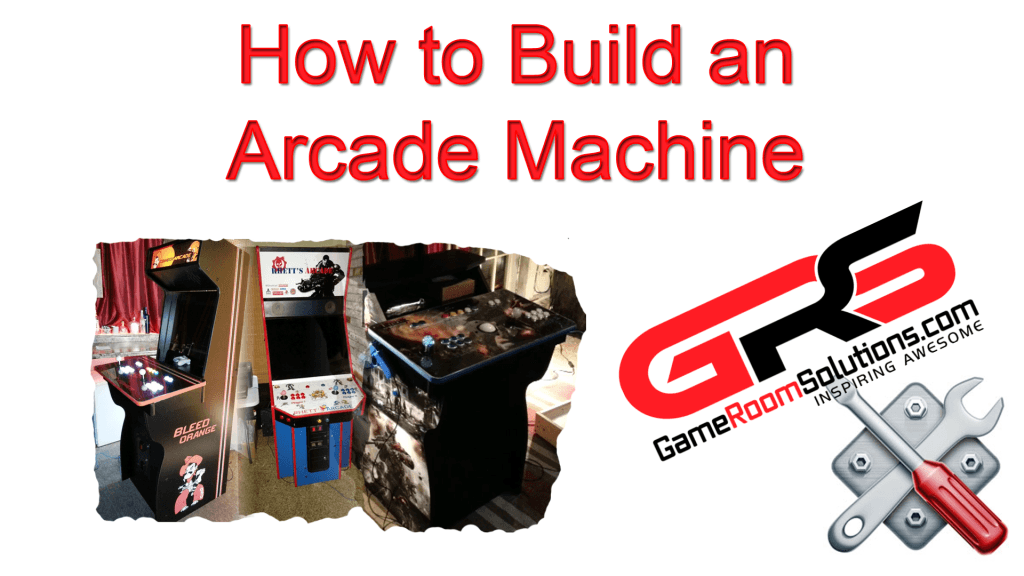 Build a home arcade machine game room solutions