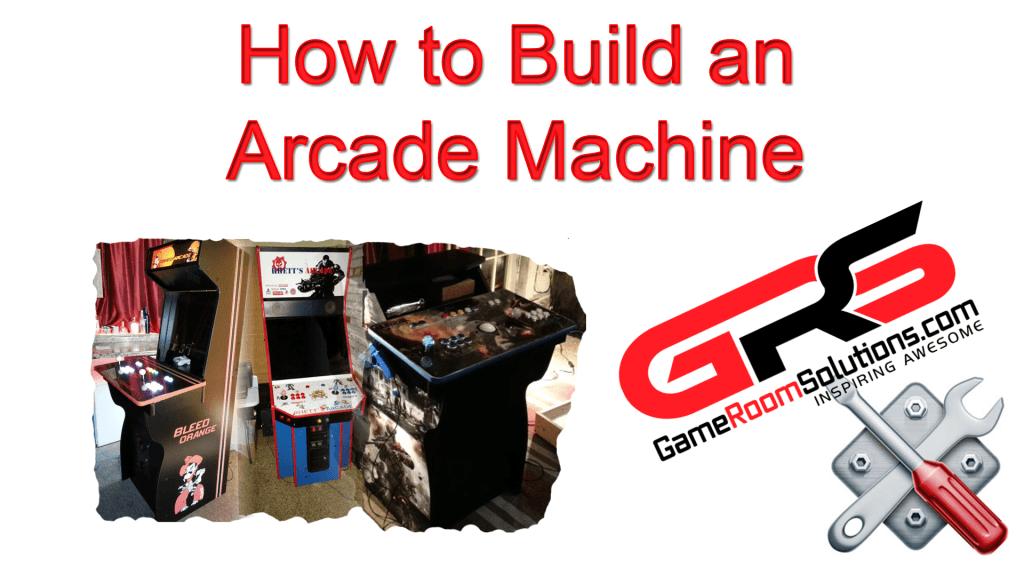 Build a Home Arcade Machine
