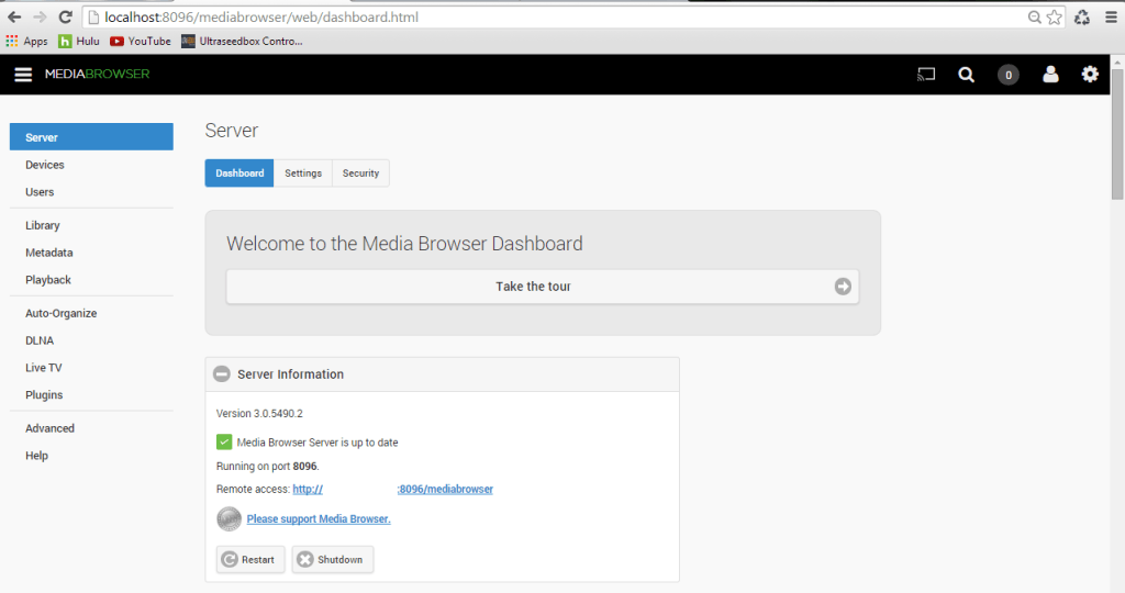 Access Your Home Theater Media with Media Browser