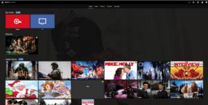media browser home