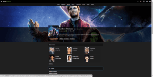 media browser movie selected