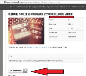 retro pie image download