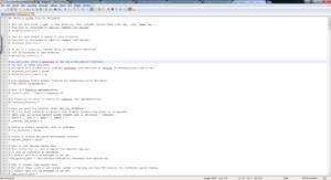 retroarch config notepad++