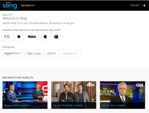 sling tv devices