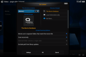 addon does not have the correct structure xbmc mac