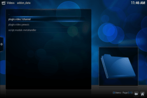 Kodi addon_data 1channel xbmc add to library