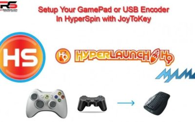 HyperSpin Controller Setup with JoyToKey and Gamepad