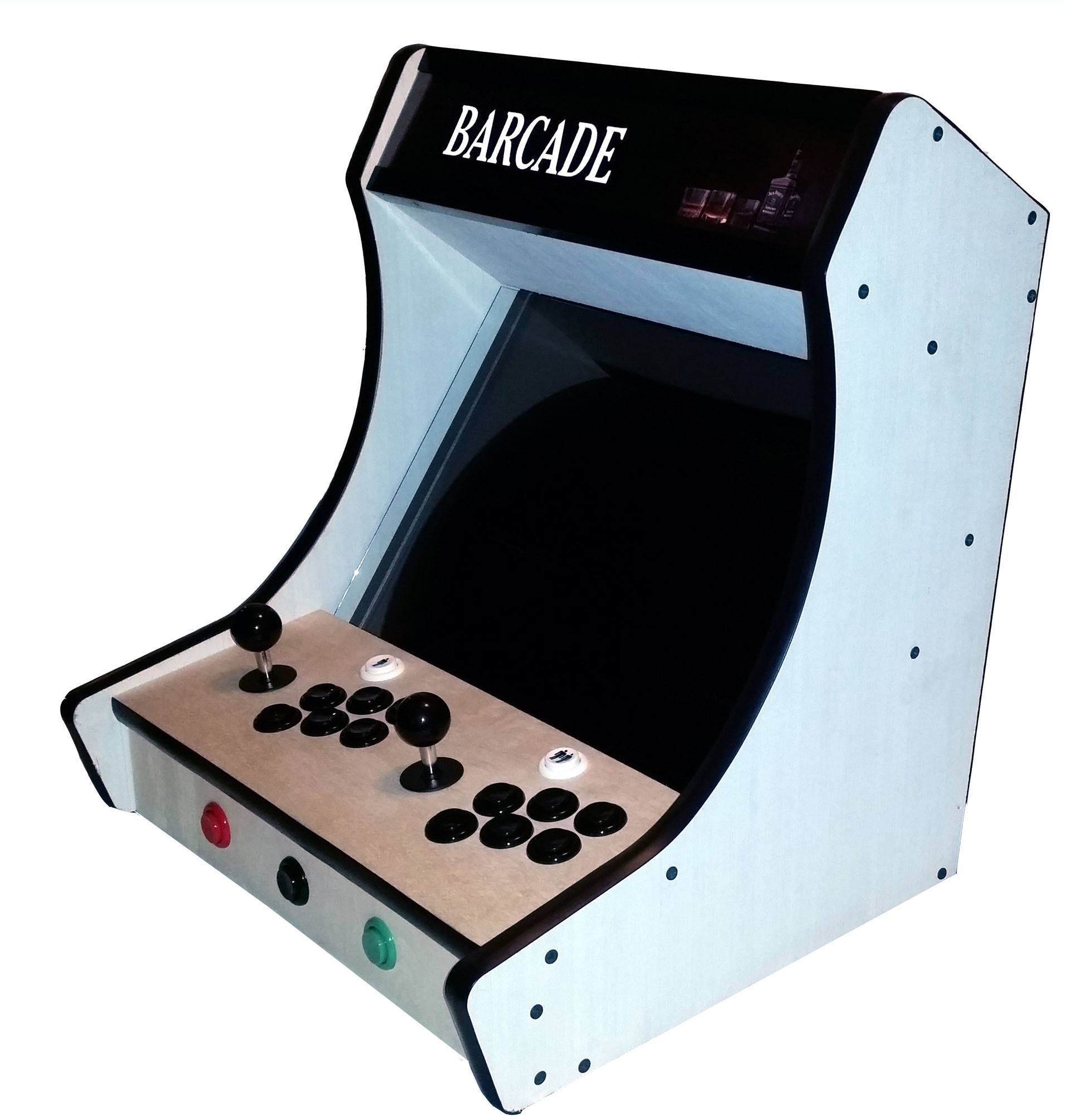 bartop arcade kit game room solutions. Black Bedroom Furniture Sets. Home Design Ideas