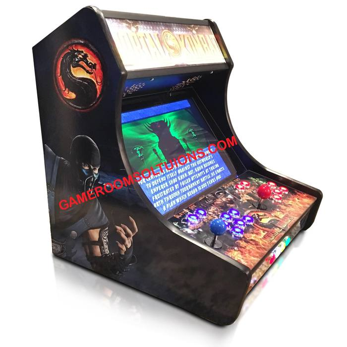 Bartop Arcade Kit Deluxe - Cam Lock, Graphics, Control Kit
