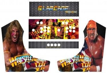 Bartop Arcade WWF