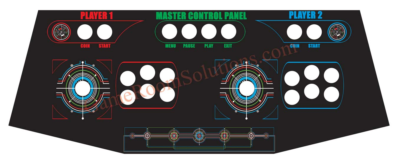 Cp Master Control Panel Game Room Solutions