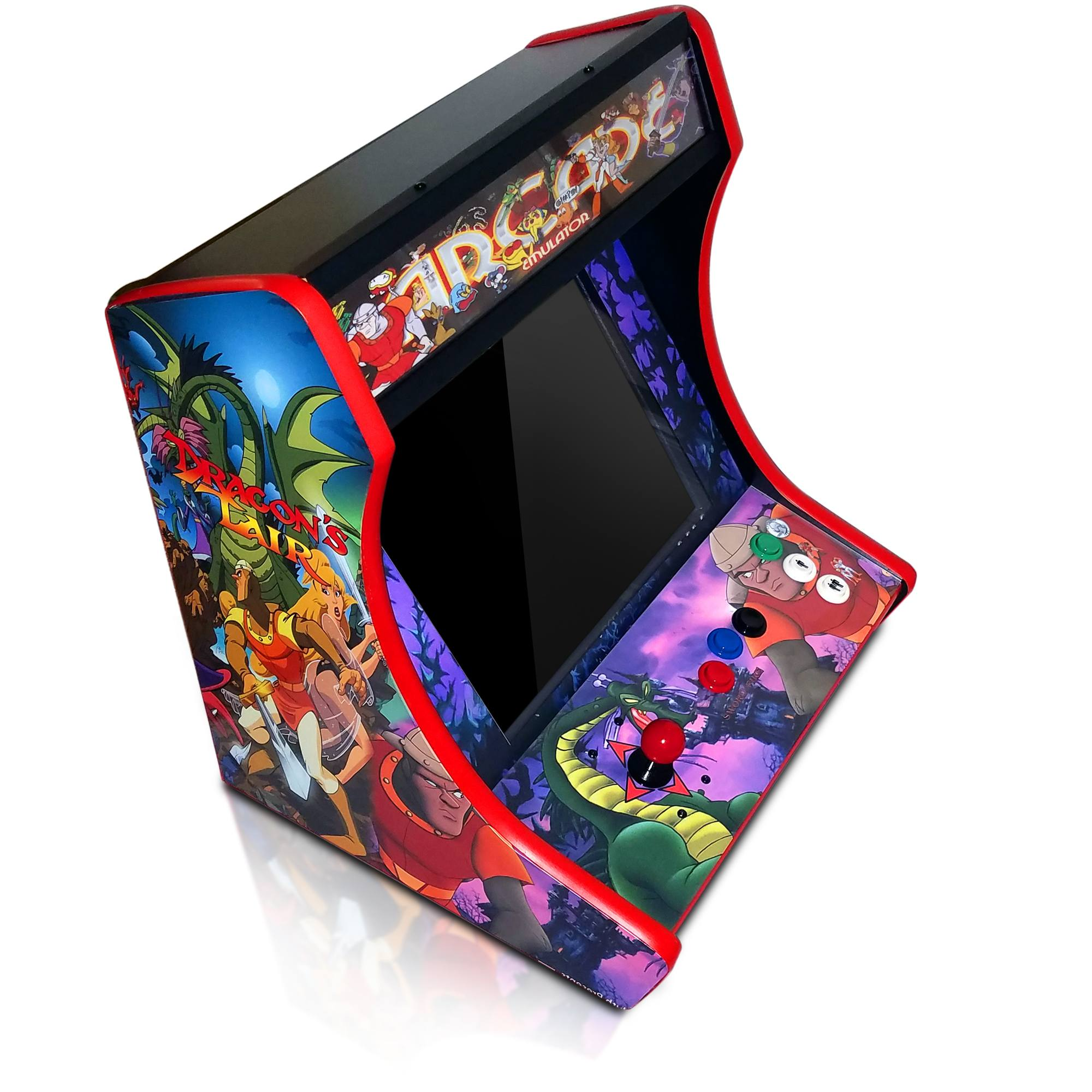 Mini Virtual Pinball Cabinet - Cam Lock, Graphics, Control Kit