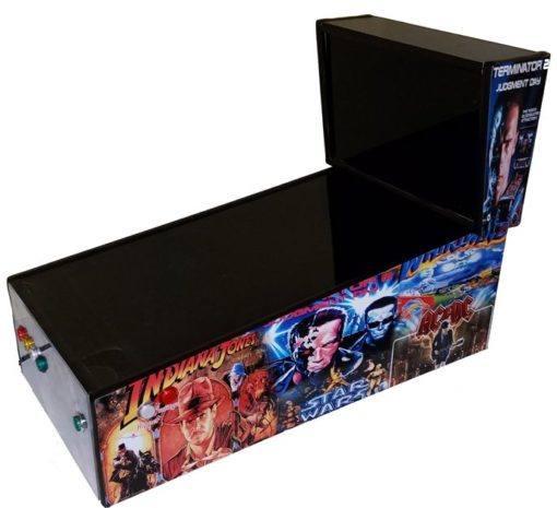 Mini Virtual Pinball Cabinet Cam Lock Graphics Control Kit