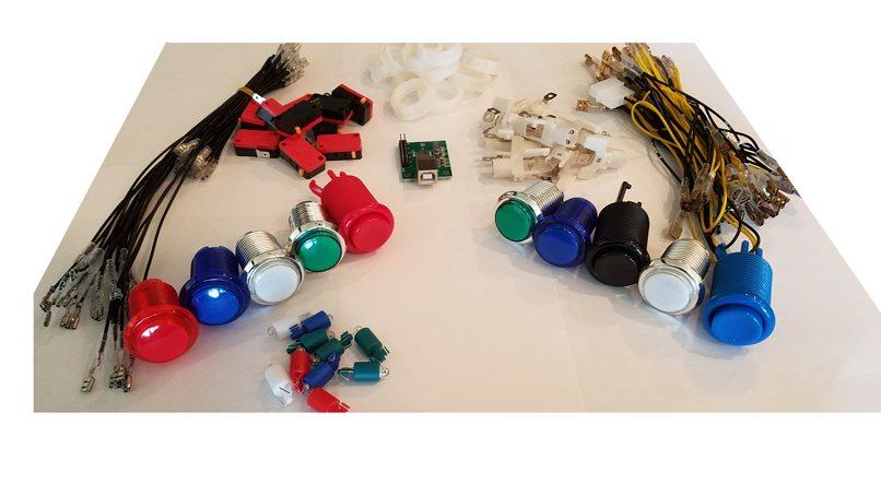 Mini Virtual Pinball Cabinet Cam Lock Graphics Control Kit