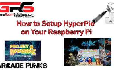 HyperPie – Easy Setup Guide – Turn Your Raspberry PI into a HyperSpin Style Retro Gaming System