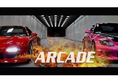 arcade cars