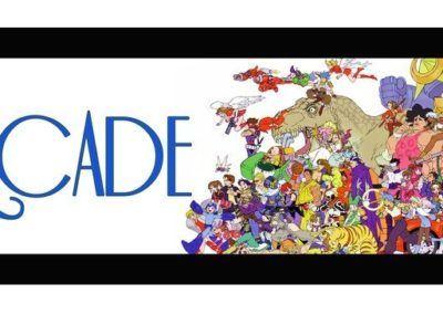 blue arcade