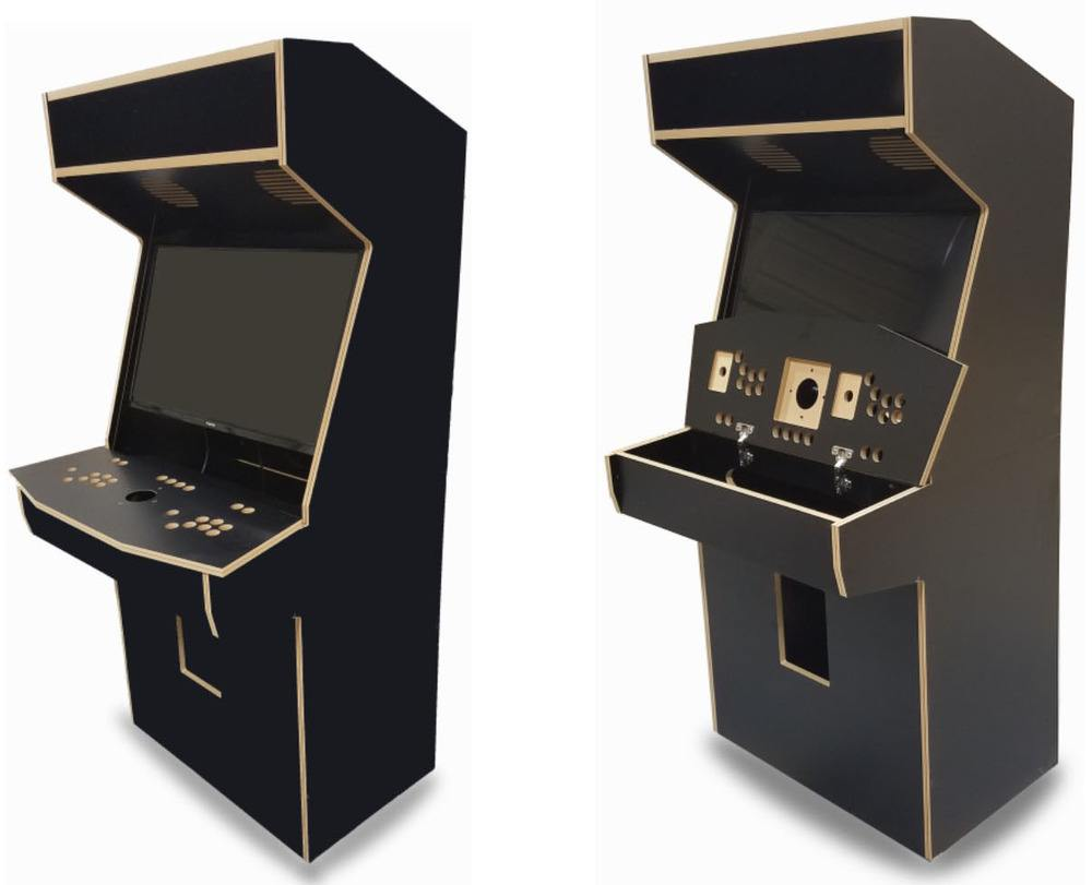arcade cabinet kit for 32 easy assembly get the arcade of your dreams. Black Bedroom Furniture Sets. Home Design Ideas