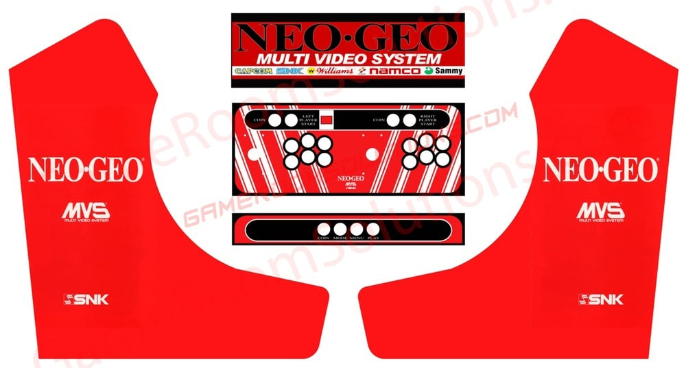 Deluxe Bartop 22 Quot Graphics Package Game Room Solutions