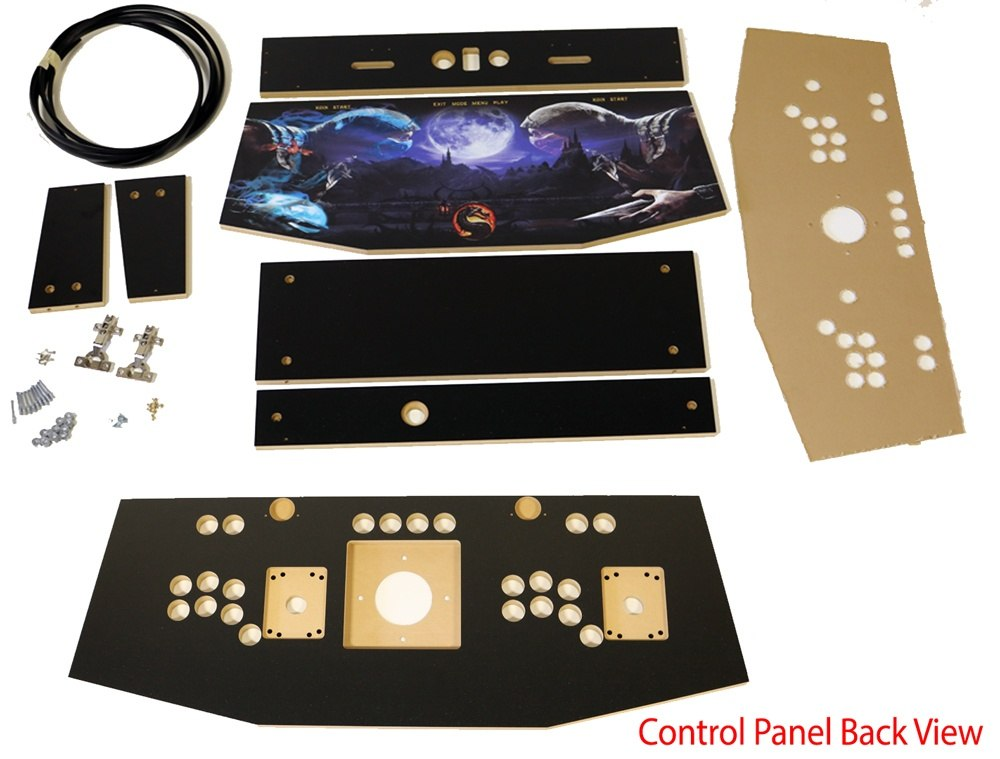 Arcade Control Panel Kit with Trackball Option