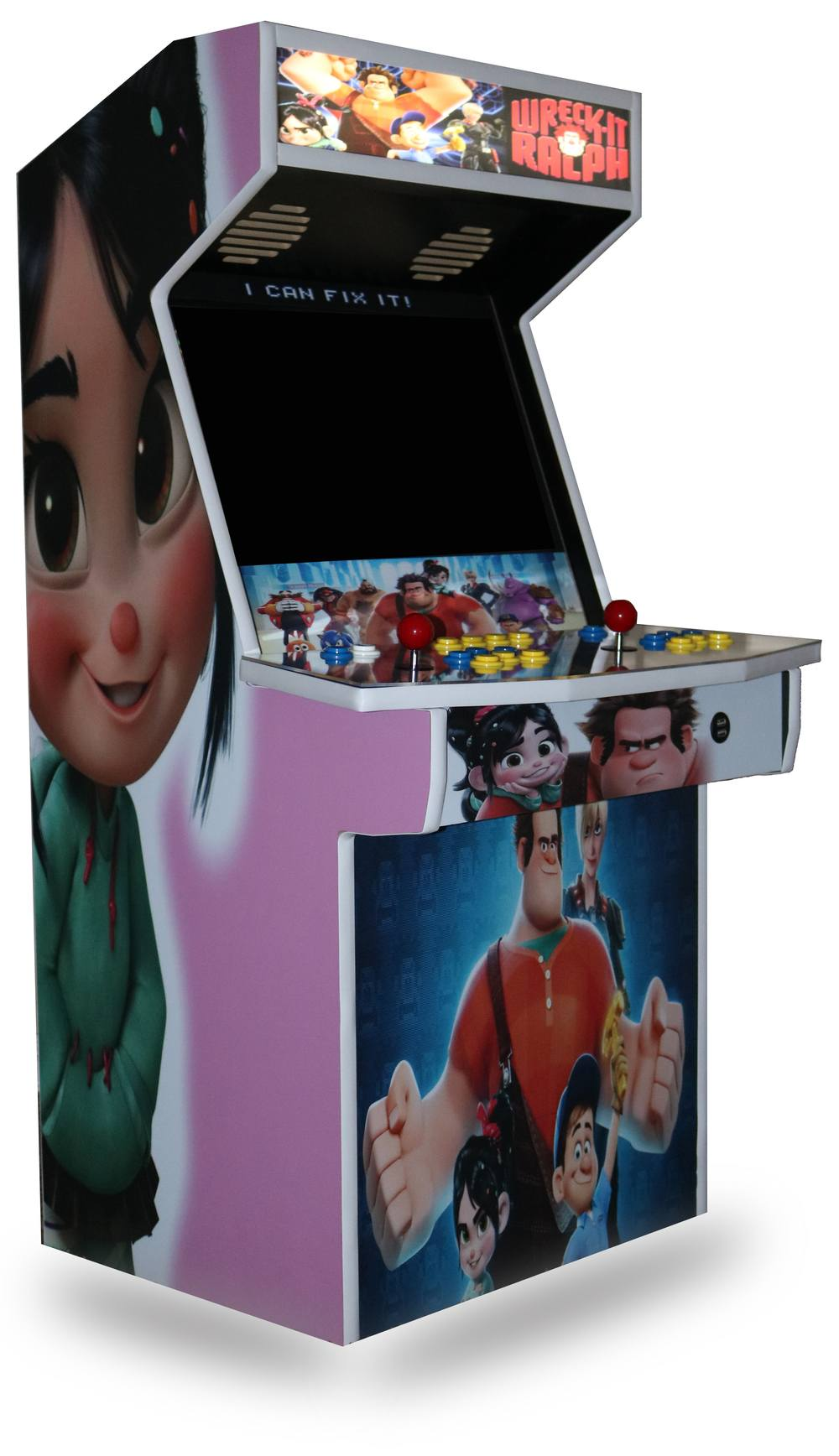 Level Up 3/4 Size Arcade Cabinet Kit for 22