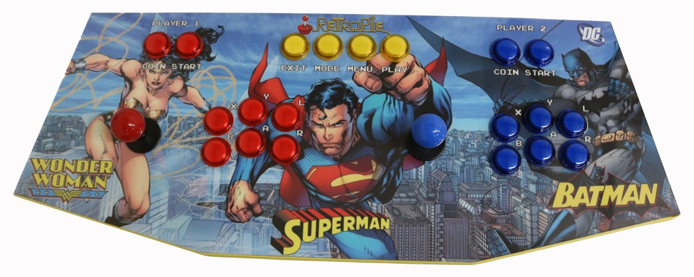 Plug And Play Arcade Control Panel Dc Game Room Solutions