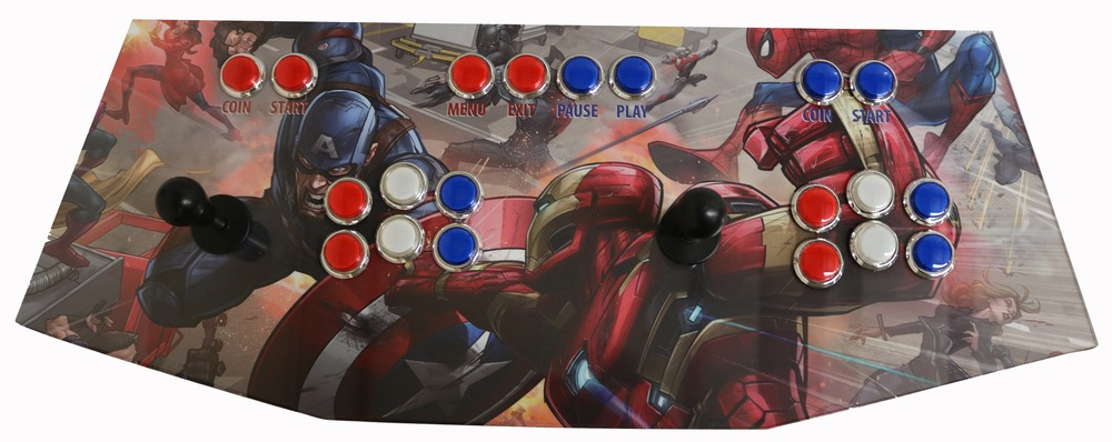 Plug And Play Arcade Control Panel Mvl Game Room Solutions