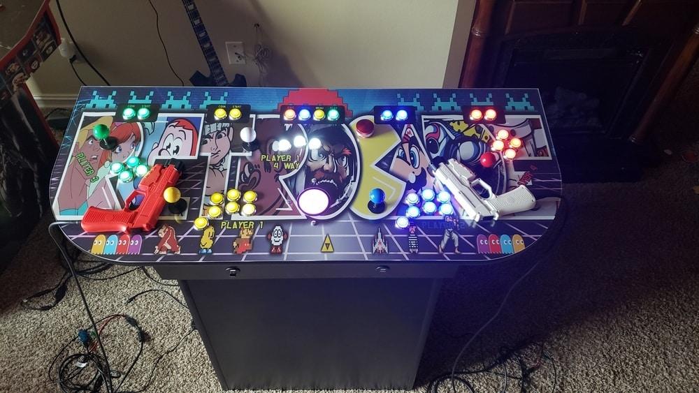4 Player Pedestal Cabinet