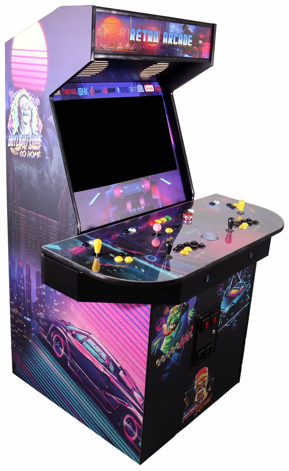 4 Player Pedestal Arcade Kit Easy Assembly Fast Shipping