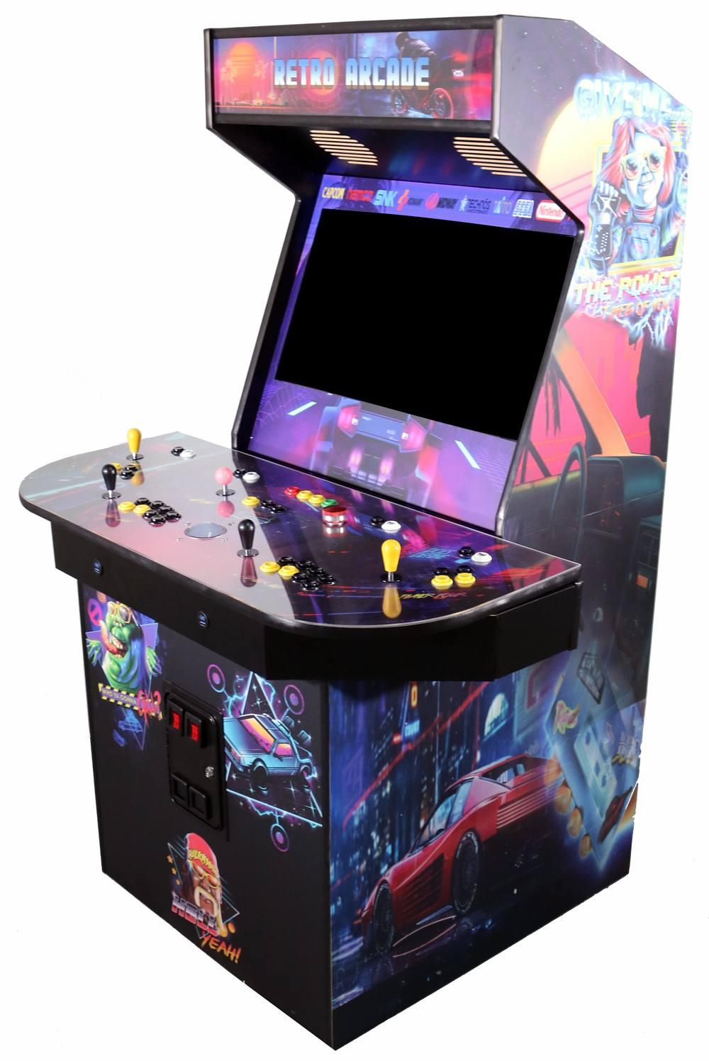 4 Player Arcade Cabinet
