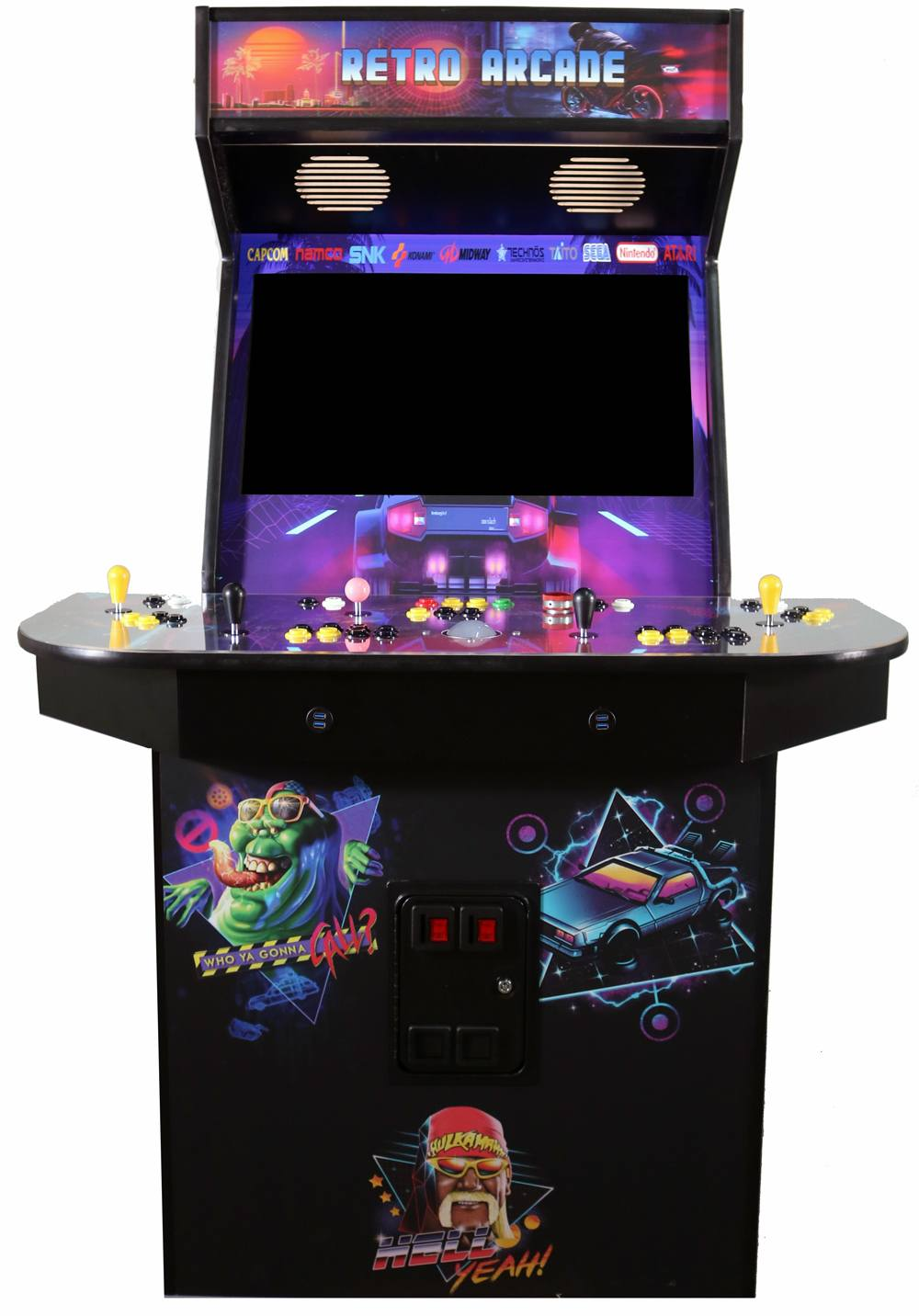 4 Player Pedestal Arcade Kit - Easy Assembly, Fast Shipping