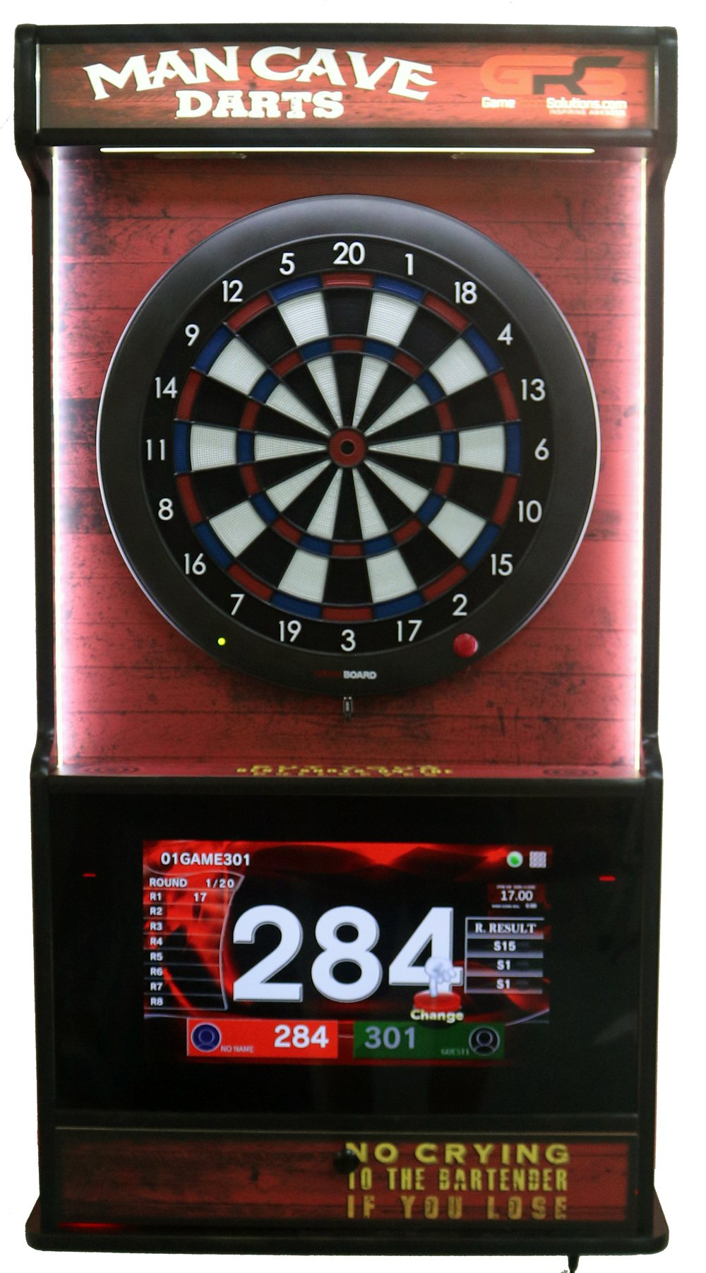 Wall Mounted Dartboard And Jukebox Easy Assembly Fast